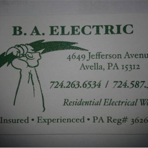BA Electric Logo