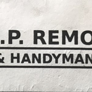 L Remodeling And Handyman Service Logo