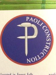 Paoli Construction Logo