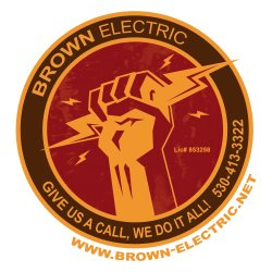 Brown Electric Logo