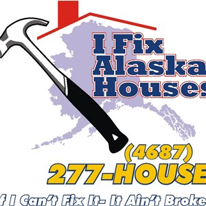 I Fix Alaska Houses Logo