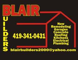 Blair Builders Logo