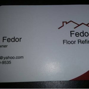 Fedors Floor Refinishing Cover Photo