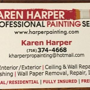 Karen Harper Professional Painting Services Logo