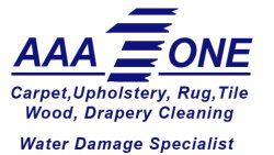 AAA 1 Carpet and Floor Care. Logo