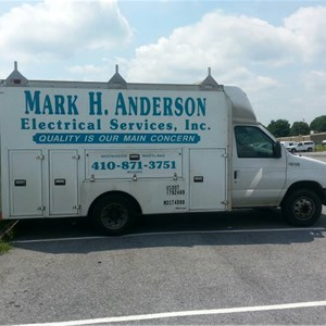 Mark H Anderson Elecl SVC INC Logo