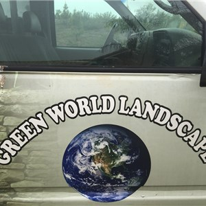 Green World Landscapes Logo