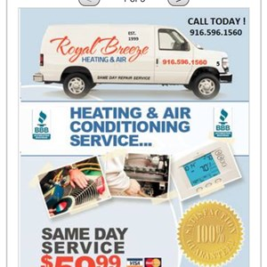 Royal Breeze Heating& Air Conditioning Cover Photo