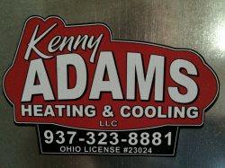 Kenny Adams Heating & Cooling llc Logo