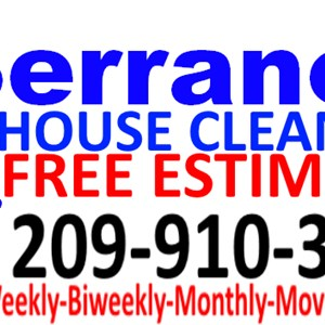 Serranos House Office & Business Cleaning Services Logo