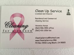 Clean up service Logo