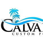 Calvary Custom Pools Logo