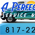 A Perfect Pool Service & Repair Logo