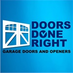 Doors Done Right - Garage Doors and Openers Logo
