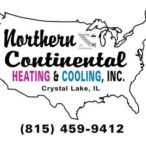 Northern Contntl Heating & Coolg Logo