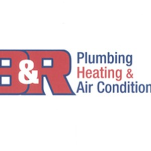 B&r Plumbing, Heating and Air Conditioning Logo