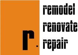 R. Remodeling, Renovation, Repairs Logo