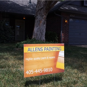 Allens Painting Logo