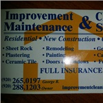 Improvement Cleaning Services Logo