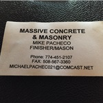 Massive Concrete & Masonry Cover Photo