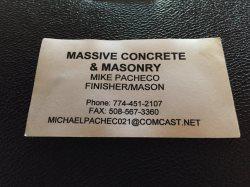 Massive Concrete & Masonry Logo