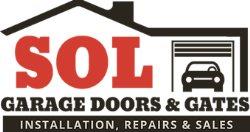 Sol Garage Door & Gates Logo