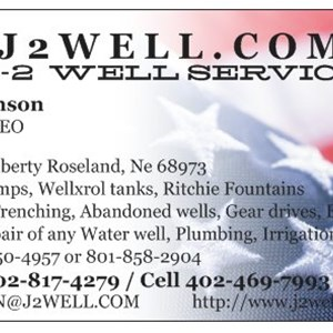 Johnson Water Well Service Logo