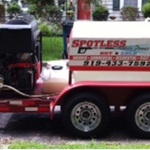 Spotless Mobile Powerwash Logo