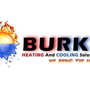 Burks Heating And Cooling Solutions Logo