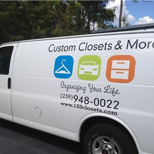 Custom Closets & More LLC Logo