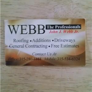 Webb The Professionals Logo