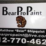 Bear Pro Paint Logo