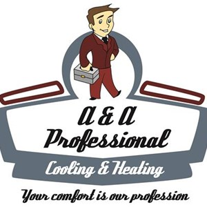A&A Professional Cooling & Heating Logo