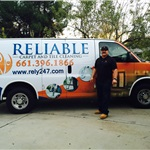 Reliable Janitorial Services Logo