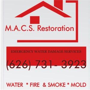 Macs Restoration Logo
