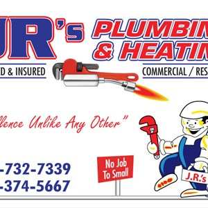 Jrs Plumbing and Heating Logo