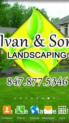 Ivan & Son Landscaping Logo