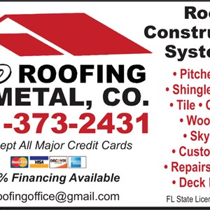 Pro Roofing & Metal Co. Logo