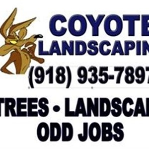 Coyote Landscaping Logo