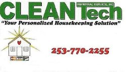 Cleantech Housekeeping Logo