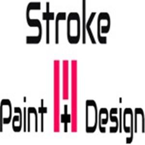 Stroke Paint + Design Logo