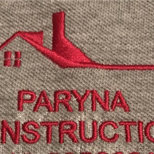 PARYNA CONSTRUCTION Logo