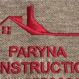 PARYNA CONSTRUCTION Logo