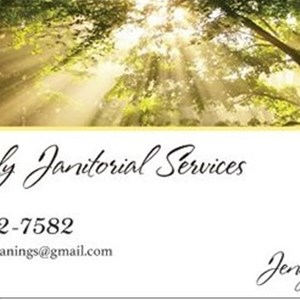 Heavenly Janitorial Services Logo