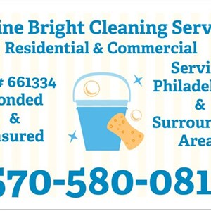 Shine Bright Cleaning Service Logo