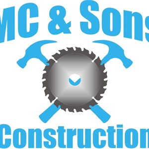 Mc & Sons Construction Logo