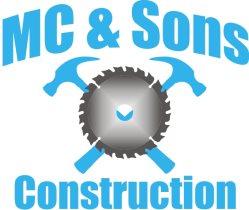 Mc & Sons Construction Logo