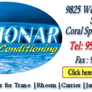 Monar Air Conditioning & Appliance / Refrigeration Logo
