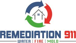Remediation 911 Water Fire Mold, Inc. Logo