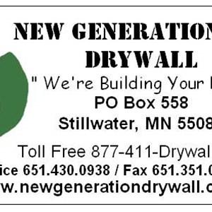 New Generation INC Drywall Logo